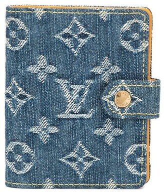 Louis Vuitton Pre Owned mini notebook denim cover