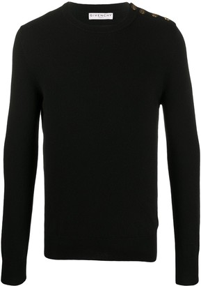 Givenchy 4G buttons cashmere jumper
