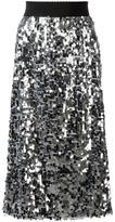 Dolce & Gabbana sequinned skirt - women - Silk/Polyester/Spandex/Elastane - 40