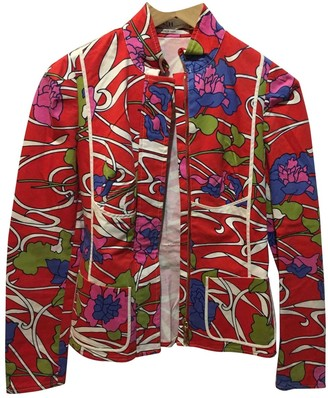 Carolina Herrera Multicolour Cotton Jacket for Women