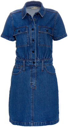 Madewell Waisted Denim Shirtdress