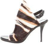 Balenciaga Ponyhair Glove Sandals