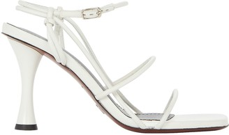 Proenza Schouler Strappy Leather High Heel Sandals