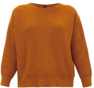 Petar Petrov Kory Back-split Cashmere Sweater - Orange