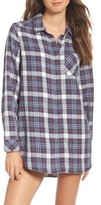 Make + Model Women's Plaid Night Shirt