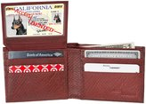 Access Denied Mens RFID Blocking Bi-Fold Leather Wallet