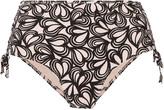 adidas by Stella McCartney Printed high-rise bikini briefs