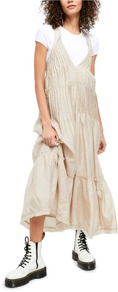 Free People Frankie Pintuck Sleeveless Maxi Dress