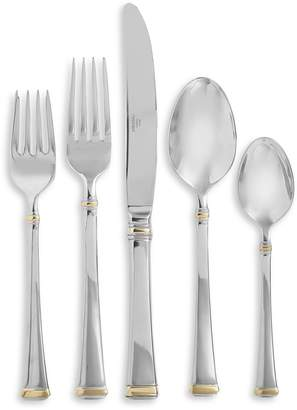 Mikasa 65-Piece Gold Accent Harmony 18/10 Stainless Steel Flatware Set