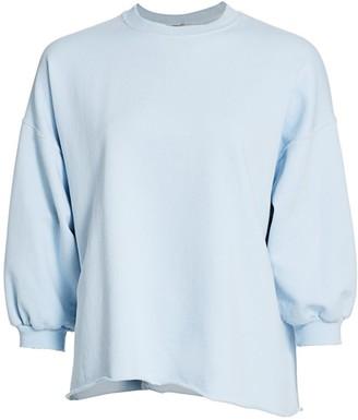 Rachel Comey Fond Puff-Sleeve Sweatshirt