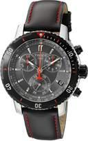 Tissot Men's T0674172605100 PRS 200 Chronograph Dial Watch