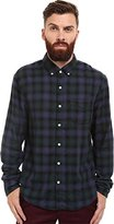 Joe's Jeans Men's Slim Fit Shirt Navy Forest