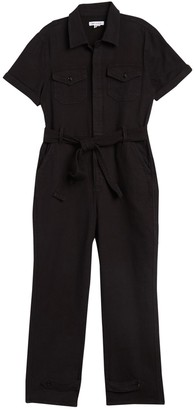 Good American The Waist Tie Utility Jumpsuit (Regular & Plus Size)