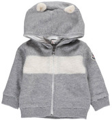 Moncler Zip-Up Cardigan with Ear Hood
