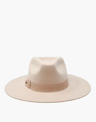 Madewell WYETH Felt Lila Fedora Hat