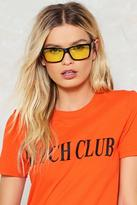 Nasty Gal nastygal Lose Your Cool Tinted Glasses