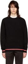 Givenchy Black Iconic Band Sweater