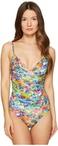 Paul Smith Watercolor Classic Swimsuit Women's Swimsuits One Piece