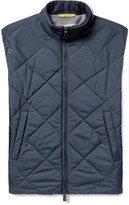 Canali Reversible Water-Resistant Quilted Shell Gilet
