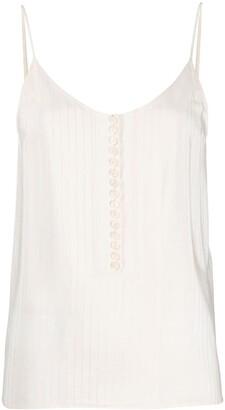 Chloé Striped Silk Camisole