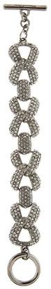 Oscar de la Renta Pave bold-chain bracelet