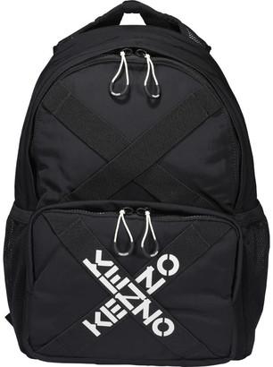 Kenzo Taped Logo Backpack