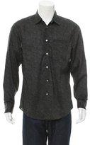 John Varvatos Floral Print Button-Up Shirt