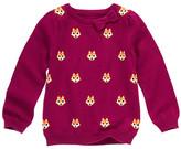 Gymboree Bow Fox Sweater