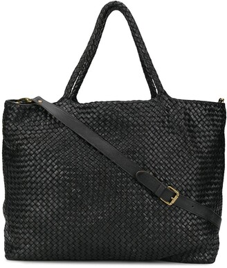 Officine Creative Woven Large Tote