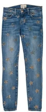 Current/Elliott The Stiletto Low-Rise Jeans