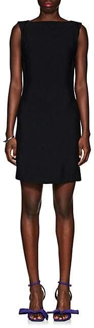 Calvin Klein Women's Low-Back Crepe Dress - Black