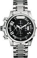 Ecko Unlimited Men's The Grid M20074G1 Silver Stainless-Steel Analog Quartz Watch with Dial