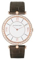 Van Cleef & Arpels Pierre Arpels Pink Gold Watch with Diamonds, 38mm