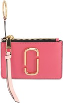 Marc Jacobs Snapshot Leather Zip Card Holder