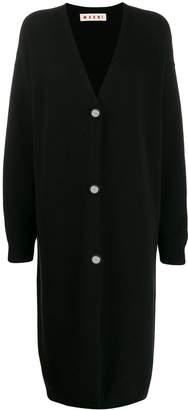 Marni v-neck long cardigan