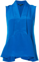 Derek Lam sleeveless flared blouse - women - Silk - 40