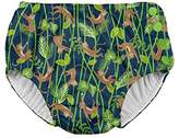 I Play Snap Reusable Swimsuit Diaper, 3T, 2 to 3 Years, Navy Monkey