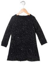 Nununu Girls' Distressed Dot Print Dress