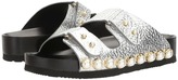Suecomma Bonnie - Jewel Detailed Flat Sandal Women's Sandals