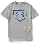 Under Armour Big Boys 8-20 Diamond Logo Short-Sleeve Graphic Tee