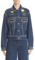 Stella McCartney Women's Embellished Denim Jacket