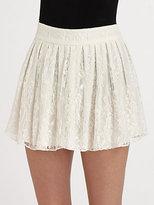 Rei Lace Mini Skirt