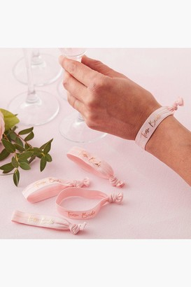 boohoo Ginger Ray Team Bride Wristbands 5 Pack