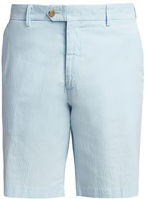 Saks Fifth Avenue COLLECTION Seersucker Shorts