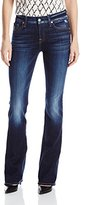 7 For All Mankind Women's Kimmie Bootcut with Distress in