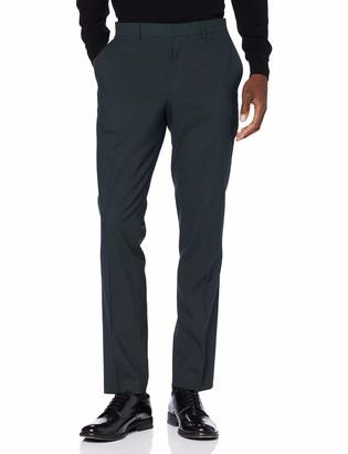 Selected Men's Slhslim-mylologan Dk TRS B Noos Suit Trousers