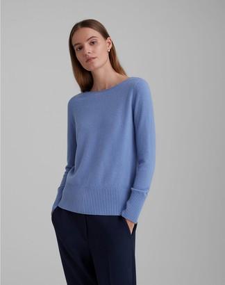 Club Monaco Essential Cashmere Open Neck Sweater