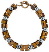 Stephen Dweck Tiger's Eye Quartz Collar