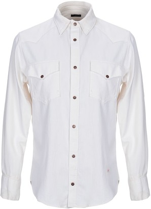 (+) People Denim shirts
