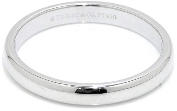 Tiffany & Co. Platinum Lucida Band Ring Size 8.5